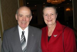 Incoming PDAC President Jon Baird; Martha Baird
