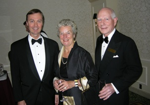 Don Lindsay, President & CEO Teck-Cominco; Mimi Yates; Ted Yates, Mineral Consultant