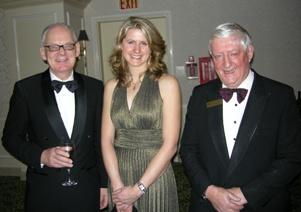 William Thorsell, President & CEO, Royal Ontario Museum; Tara M. Christie, Director Geologist, Constantine Metal Resources Ltd.; Donald J. Worth, Chair, CMHF