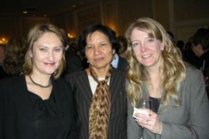 Adrianna Stech, OMA; Indira Singh, MNDM, Cheryl Brownlee, OMA