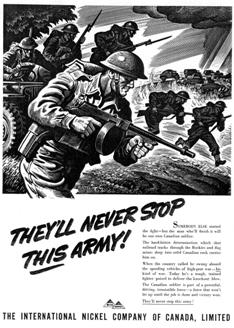 Inco Advertising During Second World War
