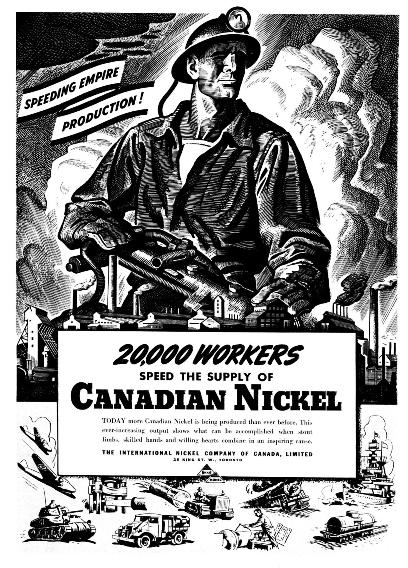 THE INTERNATIONAL NICKEL COMPANY NJ 1920s MINING
