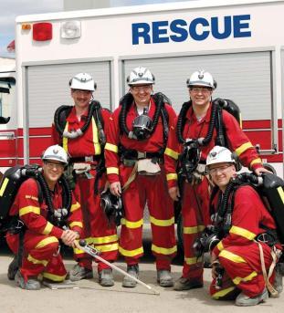 Mine Rescue Training - Vale Inco Photo
