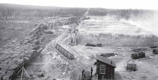 Victoria Mines Roast Yard - West of Sudbury