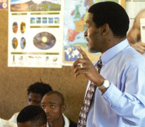 Educational support is part of closure planning at AngloGold Ashanti's Ergo project in South Africa - AngloGold Ashanti Photo