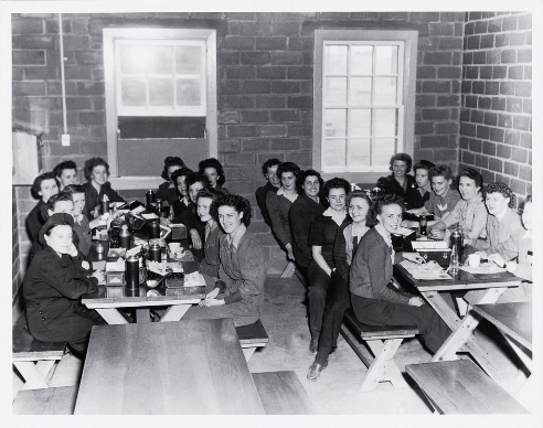 Women Working at Inco During Second World War