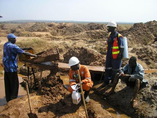 Tanzania's Artisanal Miners Sometimes Expose Themselves to Toxins Such as Mercury and Arsenic
