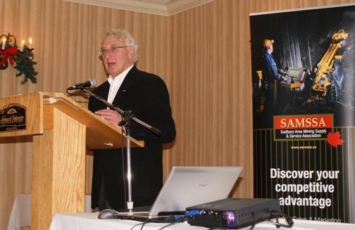 SAMSSA Executive Director Dick DeStefano at their Annual Meeting