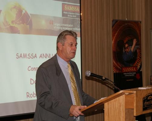 Robert S. Lipic - President and CEO of Mining Technologies International Inc.