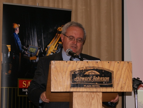 Kevin Costante - Deputy Minister of Northern Development and Mines at the SAMSSA Annual Meeting