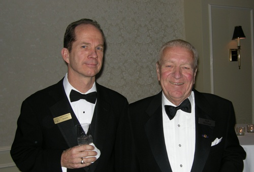Doug Donnelly, Northern Miner Publisher, Jack McOuat, Director, Canadian Mining Hall of Fame