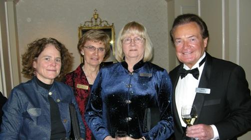 (left to right) Virginia Heffernan, Nean Allman, Marilyn Scales, John Driscoll