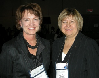 Diane Francis, National Post Editor-at-Large; MaryAnn Mihychuck, Director, Corporate Relations, HudBay Minerals Inc.