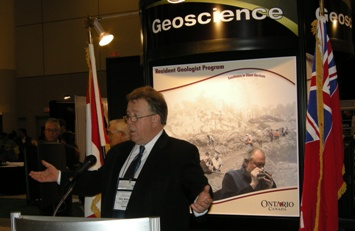 Ontario Minister of Northern Development and Mines, Honourable Michael Gravelle
