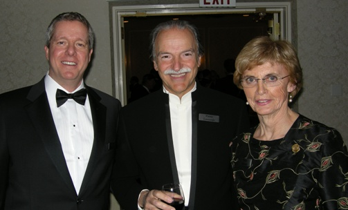 Eric Friedland, President and CEO Peregrine Metals Ltd.; Pierre Lassonde, Chairman, Franco-Nevada Corp.; Nean Allman, CHHF Co-ordinator Emerita