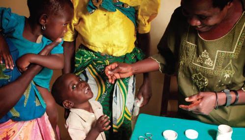Barrick's Lake Zone Health Initiative in Tanzania