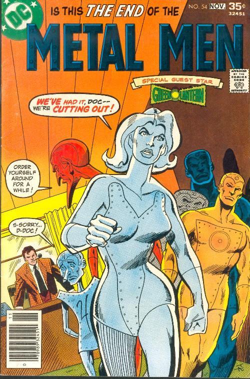 Metal Men Comic Cover
