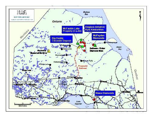 Map Courtesy KWG Resources Inc.