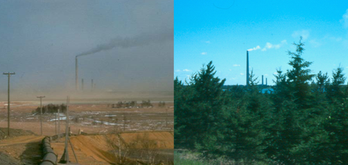 Sudbury 30 Years Ago and Now