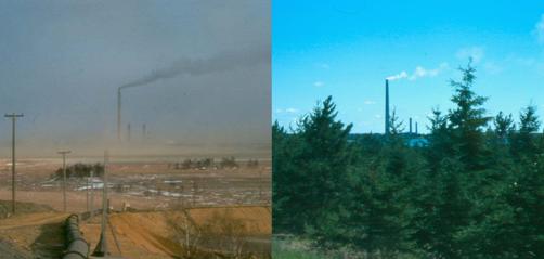 Sudbury 30 Years Ago and Now