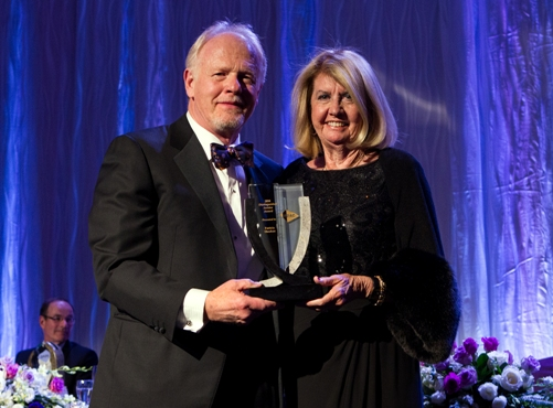 PDAC President Rod Thomas and Patricia Sheahan