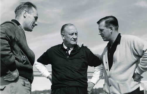 (L to R) Foster Irwin, Gilbert LaBine and Joe LaBine. (Photo: Foster Irwin Family)