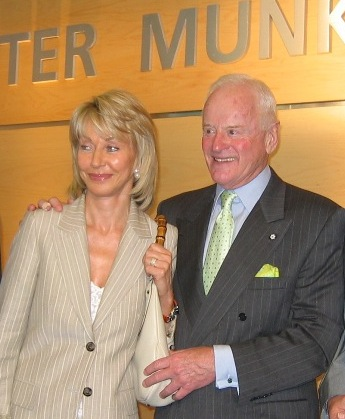 Melanie and Peter Munk