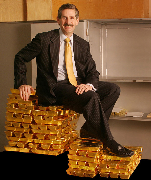 Rob McEwen, Goldcorp founder and now Chairman & Chief Owner of McEwen Mining Inc.