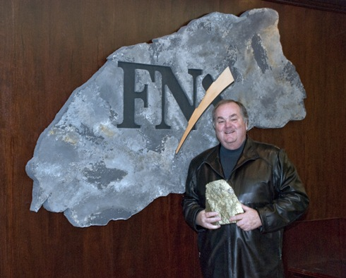 Terry McGibbon (2007-CEO of FNX Mining)